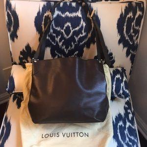 Authentic Louis Vuitton Mandara PM Moka Epi Bag